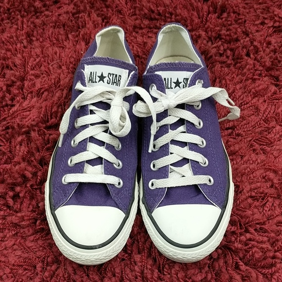 4d68c19704dd Converse Shoes - Converse Chuck Taylor All-Star Low Purple Size 8
